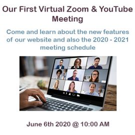 Our Next Virtual Meeting